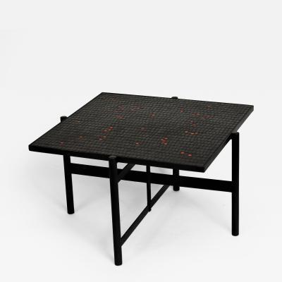 Robert Deblander Mosaic Tile Top Table