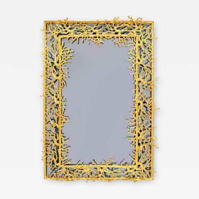 Robert Goossens Blue Coral mirror by Robert Goossens 1969