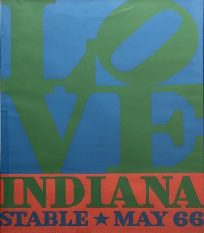 Robert Indiana Original Screen Print By Robert Indiana