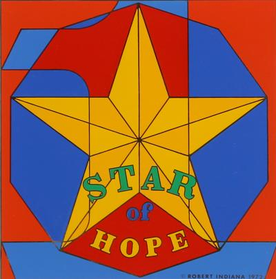 Robert Indiana Star of Hope