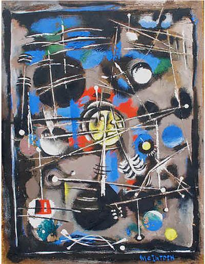 Robert Joseph McIntosh Abstraction 1