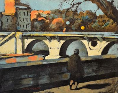Robert Joseph McIntosh Bridge on the Tiber