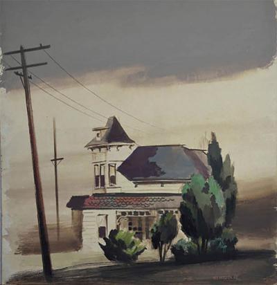 Robert Joseph McIntosh Clouds in Culver City