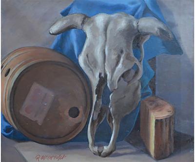 Robert Joseph McIntosh Cow and Cask