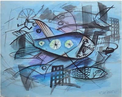 Robert Joseph McIntosh Fish Metropolis