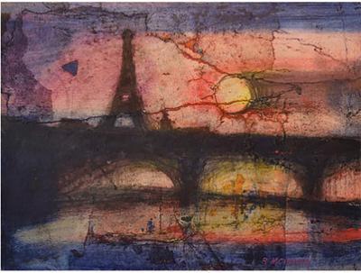 Robert Joseph McIntosh Paris in Red