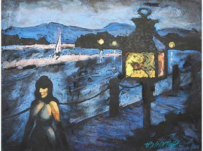 Robert Joseph McIntosh The Evening Stroll