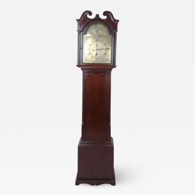 Robert Knox Mid 18th Century Scottish Case Clock by Robert Knox