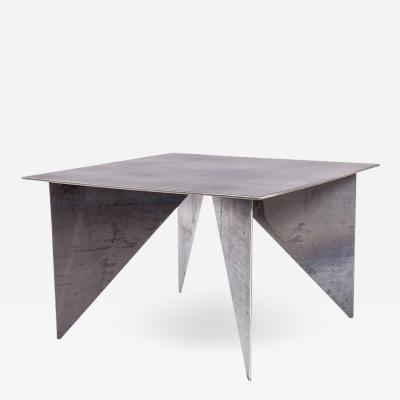 Robert Koch Artist Made Architectural Steel Table by Robert Koch USA 2018
