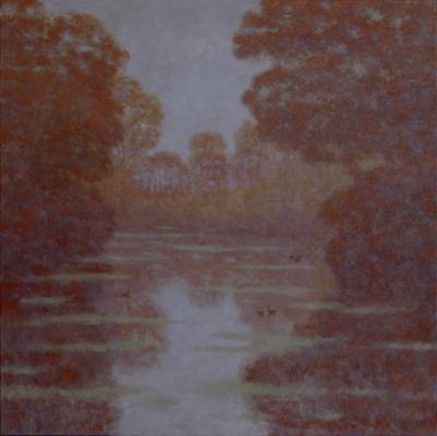 Robert Longley Autumn Pond