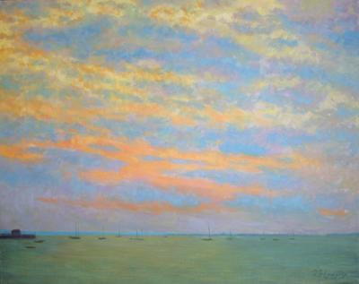 Robert Longley West End Clouds