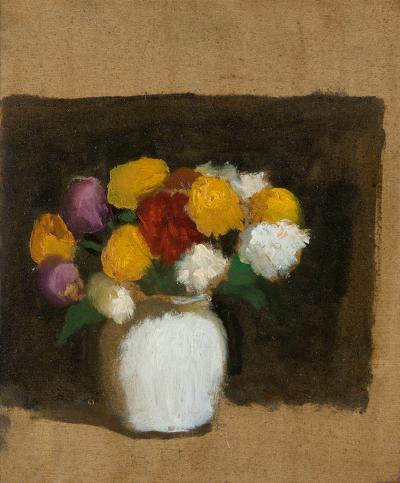 Robert M Kulicke Floral Still Life