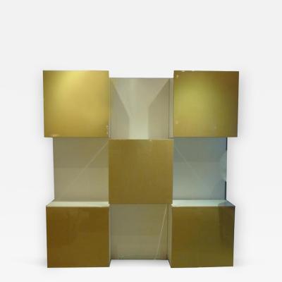 Robert Monsari Roberto Monsani for Acerbis International Life Collection Storage Wall Unit