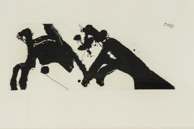 Robert Motherwell Dance Etching by Robert Motherwell