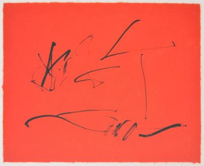 Robert Motherwell Robert Motherwell Lithograph Signed Limited Edition