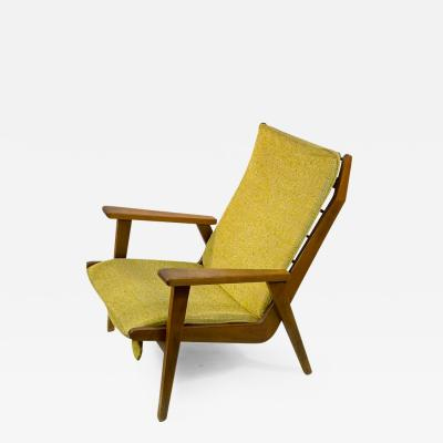 Robert Parry MID CENTURY MODERN LOTUS LOUNGE CHAIR BY ROB PARRY