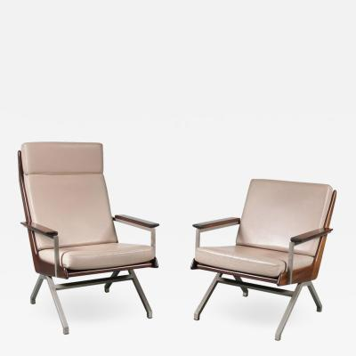 Robert Parry Pair of Rob Parry Lounge Chairs for Gelderland Netherlands 1960