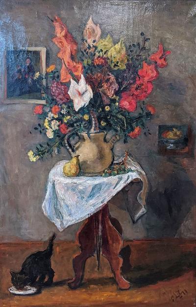 Robert Philipp Flowers on a Table