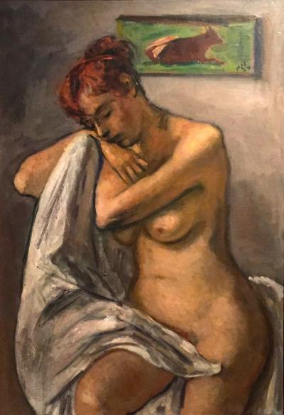 Robert Phillip Seated Nude