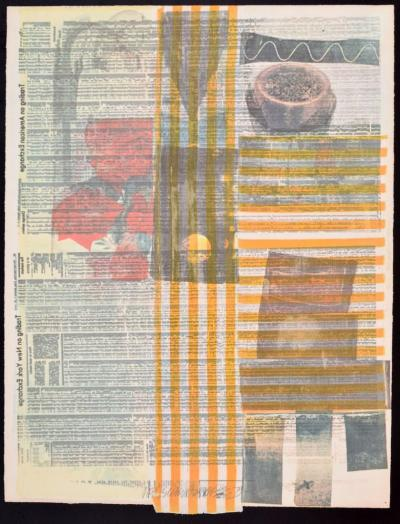 Robert Rauschenberg Robert Rauschenberg One More Screenprint Signed