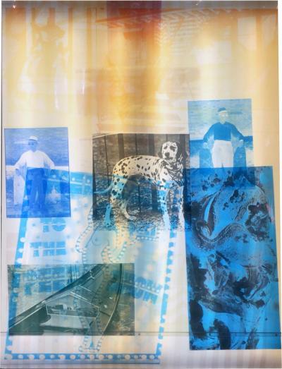 Robert Rauschenberg Sling Shots Lit 8