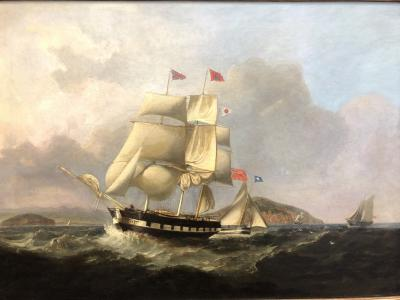 Robert Salmon Maritime Scene