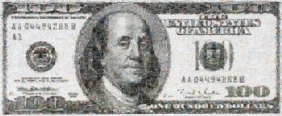 Robert Silvers 100 Dollar Bill