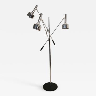 Robert Sonneman Sonneman Triennale Chrome Floor Lamp