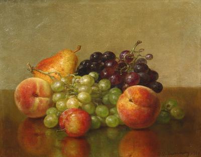 Robert Spear Dunning An Arrangement of Fruit 1901