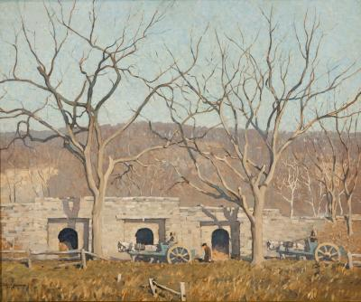 Robert Spencer Lime Kilns Point Pleasant