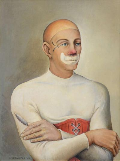 Robert Springfels Agnello Clown by Robert Springfels 1949