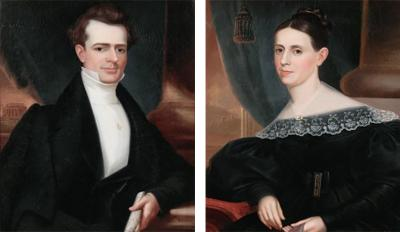 Robert Street A Handsome Young Architect and His Wife by Robert Street