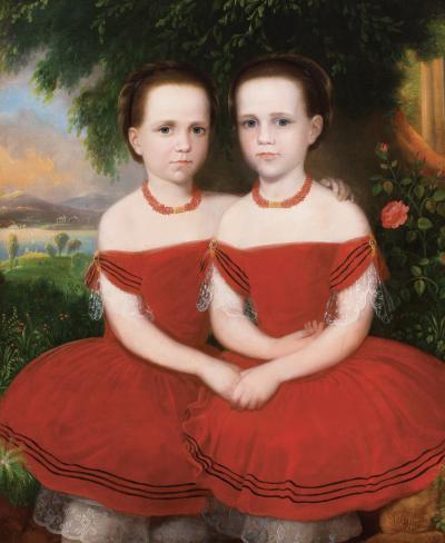 Robert Street Sisters in Red