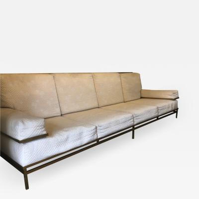 Robert Thibier 20th Century Four Seater Sofa Circa 1980