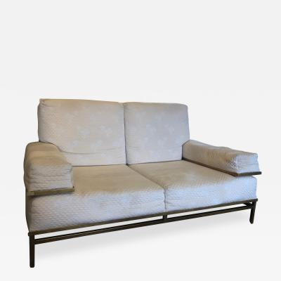 Robert Thibier xxth Century Two Seater Sofa Circa 1980