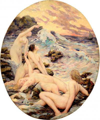 Robert Van Vorst Sewell Sirens at Gull Rock