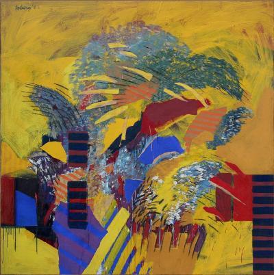 Robert Warren Loberg Painting 11 1962