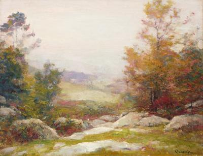 Robert William Vonnoh Misty Morn