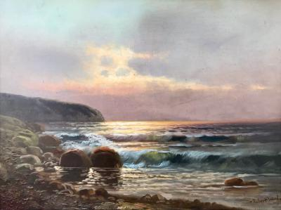 Robert Wood Twilight Laguna Beach