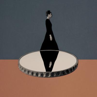 Roberta E Brambilla Mirage Center Piece Collage 1