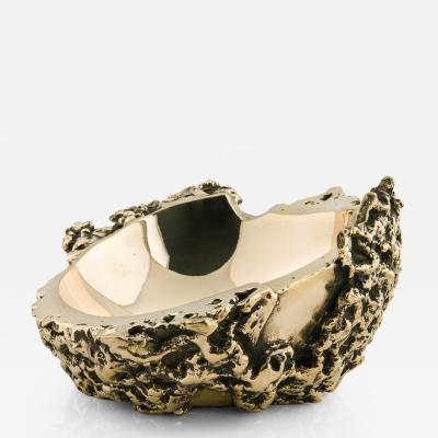 Roberta Verteramo A pair of bronze Meteore bowls