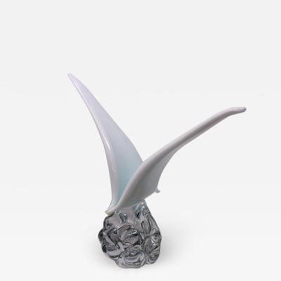 Roberto Beltrami Contemporary Murano Glass Seagull by Beltrami