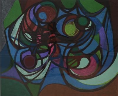 Roberto Burle Marx Roberto Burle Marx Abstract Print