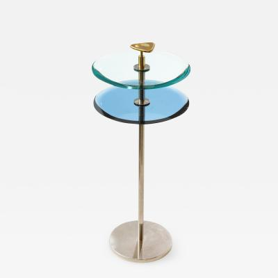 Roberto Giulio Rida 2 Tier Side Table By Robert Giulio Rida