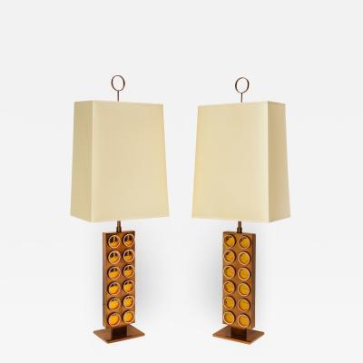 Roberto Giulio Rida Dobloni Table Lamps by Roberto Giulio Rida