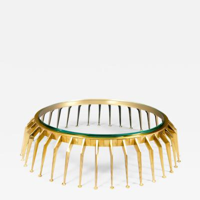 Roberto Giulio Rida Exceptional Centipede Low Bronze Table