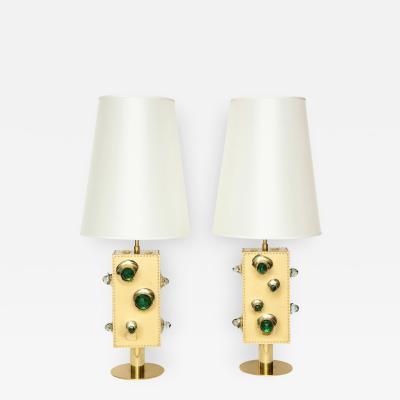 Roberto Giulio Rida Luna Studio Built Table Lamps by Roberto Giulio Rida