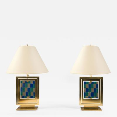 Roberto Giulio Rida Pair of Lamps