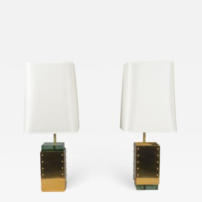 Roberto Giulio Rida Pair of Lamps by Roberto Rida Italy 2018