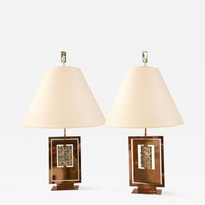 Roberto Giulio Rida Pair of Lamps by Roberto Rida b 1943 Italy Contemporary